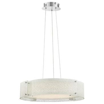 Lite Source Kaelin Pendant in Chrome, , large