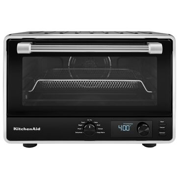 KitchenAid Digital Countertop Oven with Airfry in Matte Black, , large