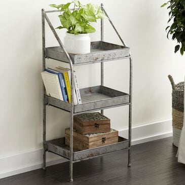 """Maple and Jade 39"""" x 18"""" Patio Shelf in Grey, , large"""