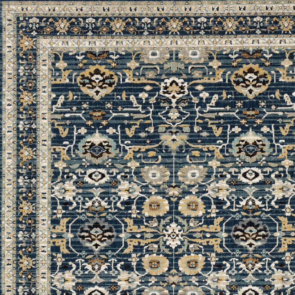 "Karastan Zephyr Amphora 92118-50150 2'4"" x 7'10"" Majolica Blue Area Rug, , large"