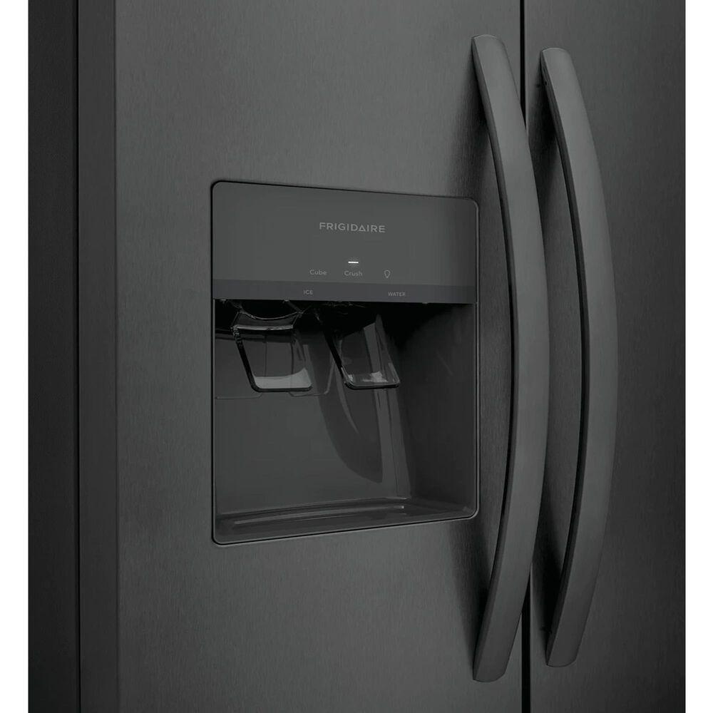 "Frigidaire 22.3 Cu. Ft.  33"" Standard Depth Side by Side Refrigerator in Black Stainless Steel , , large"
