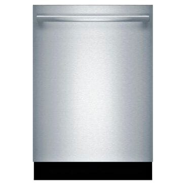 "Bosch 24"" Bar Handle Built-In Dishwasher in Stainless Steel, , large"