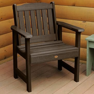 Highwood USA Lehigh Garden Chair in Weathered Acorn, , large