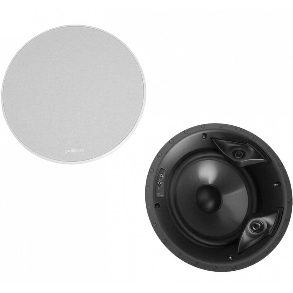 """Polk 8"""" Vanishing LS Series In-Ceiling Loudspeaker Pair, , large"""