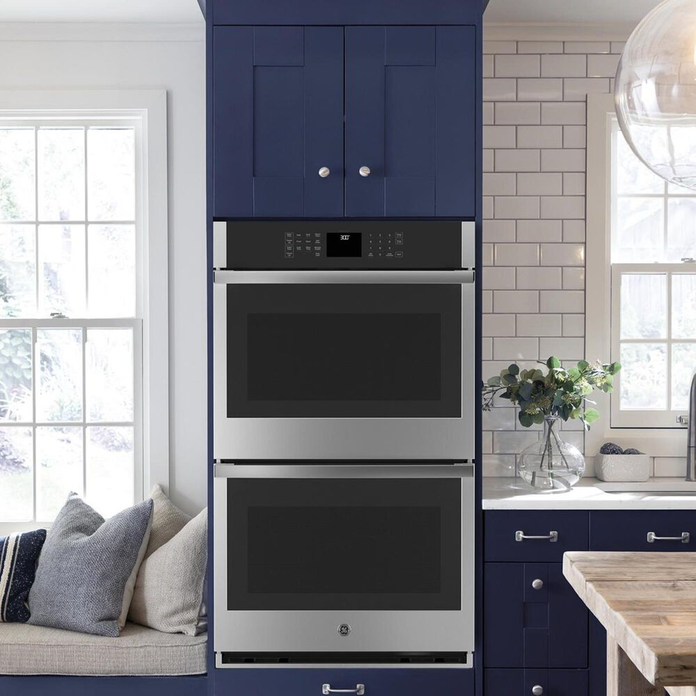 """GE Appliances 30"""" Built-In Double Wall Oven in Stainless Steel, , large"""
