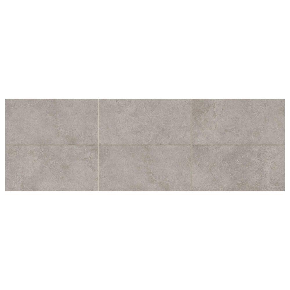 """Dal-Tile Rhetoric Matte Eloquent Grey 12"""" x 24"""" Porcelain Tile, , large"""