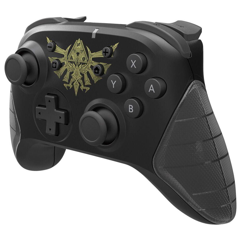 Hori Horipad Zelda Wireless Controller in Black - Nintendo Switch, , large