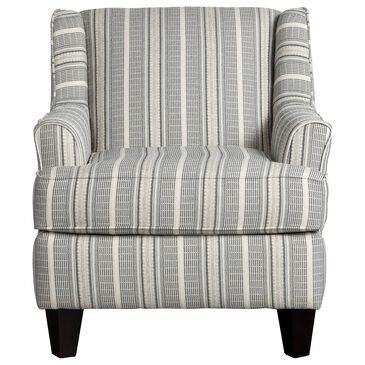 Xenia Contemporary Accent Chair in Farmhouse Indigo, , large