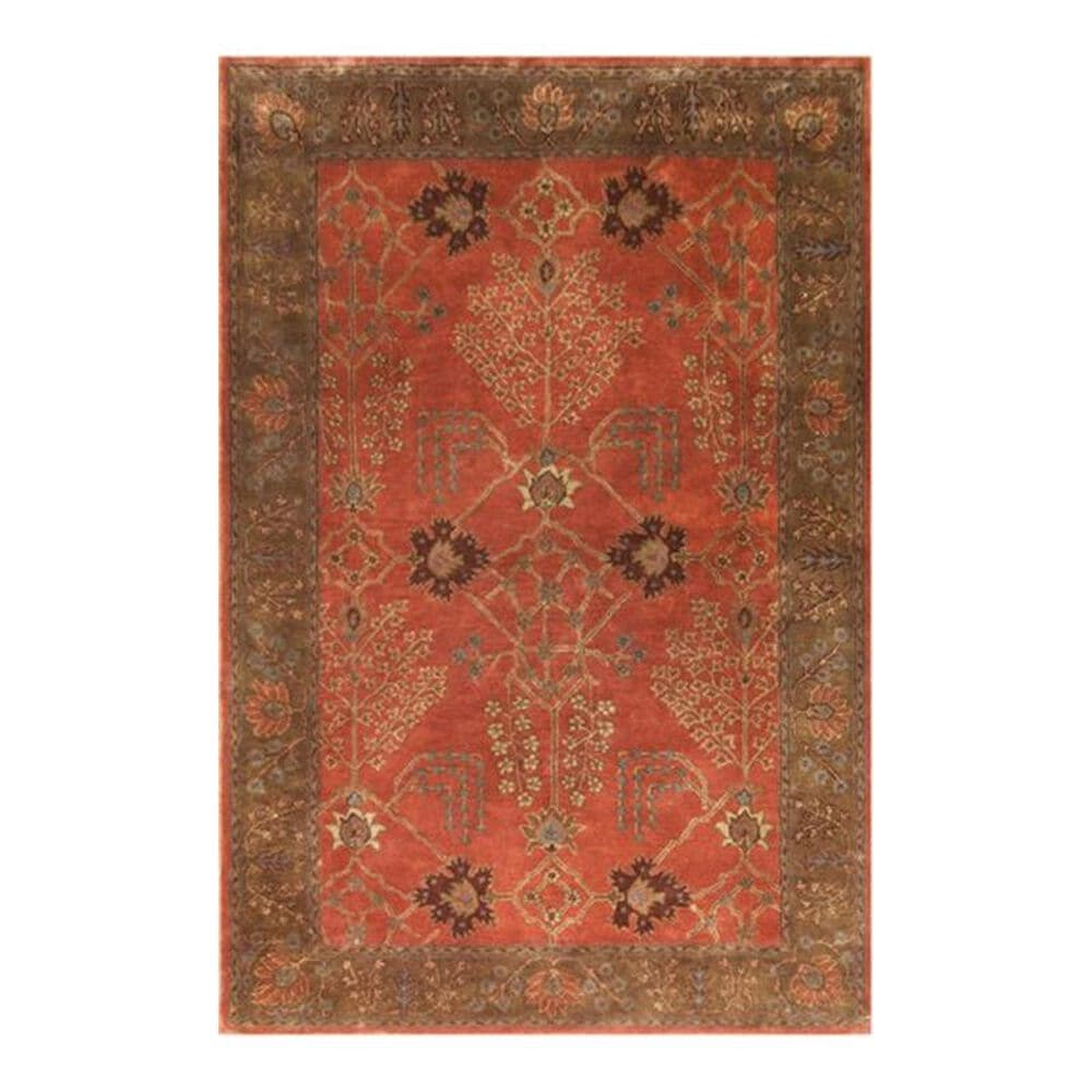 Oriental Weavers Poeme Chambery PM51 6' Round Burnt Ochre Area Rug, , large