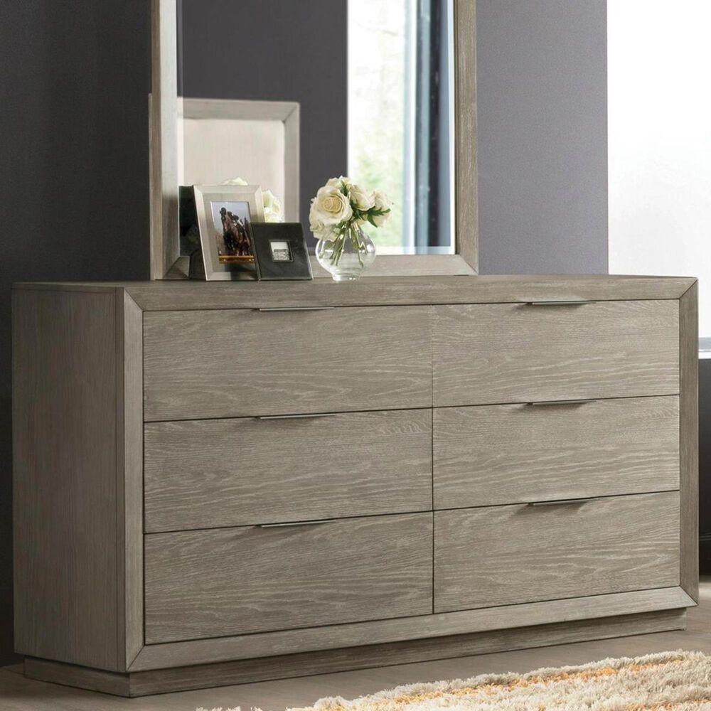 Shannon Hills Zoey 6 Drawer Dresser in Urban Gray, , large