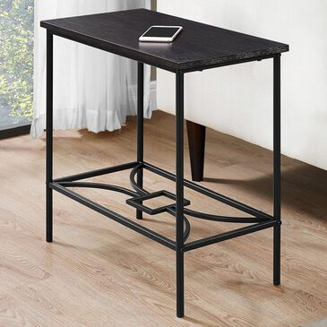 """Monarch Specialties 22"""" Accent Table in Cappuccino and Black, , large"""