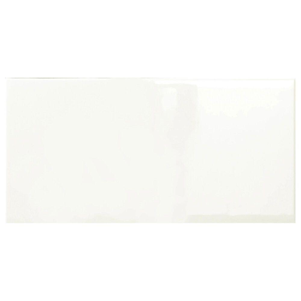"Emser Catch Ivory 3"" x 6"" Glossy Ceramic Tile, , large"