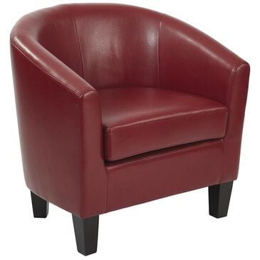 OSP Home Ethan Tub Chair in Cranberry, , large
