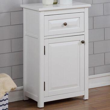 "Bolton Furniture Dorset 29"" Bath Storage Cabinet in White, , large"