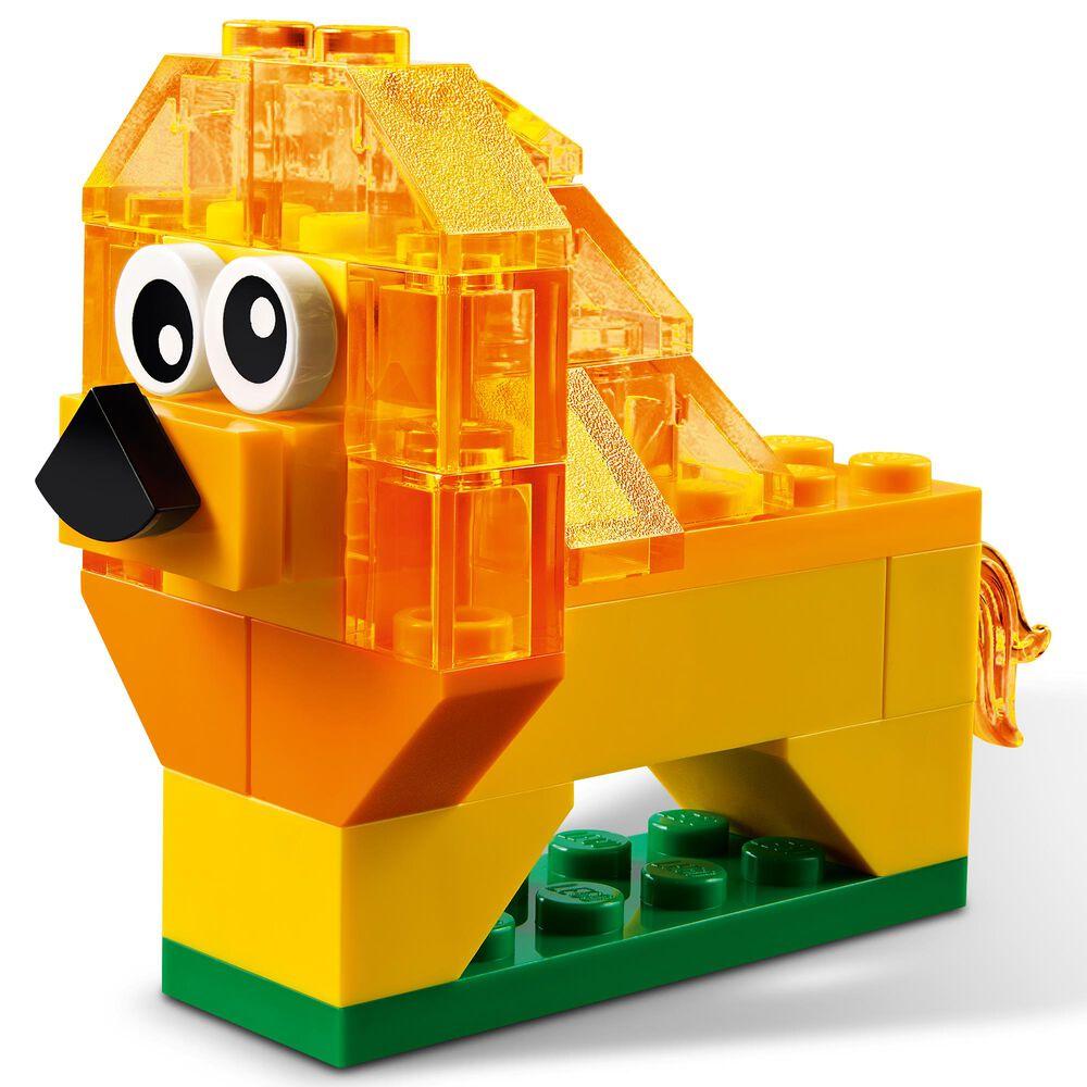 LEGO Creative Transparent Bricks Building Toy, , large