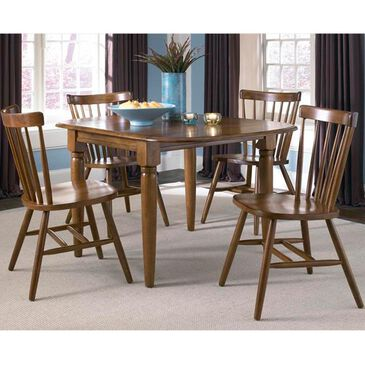Belle Furnishings Creations II Drop Leaf Table in Tobacco - Table Only, , large