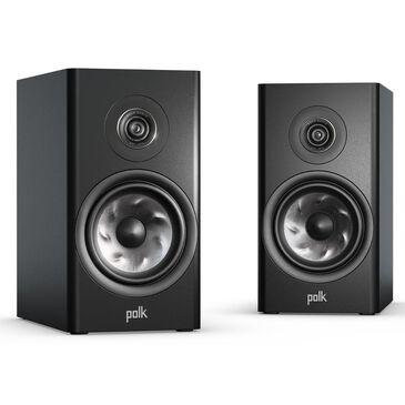 Polk Reserve R100 Bookshelf Speaker Pair in Black, , large