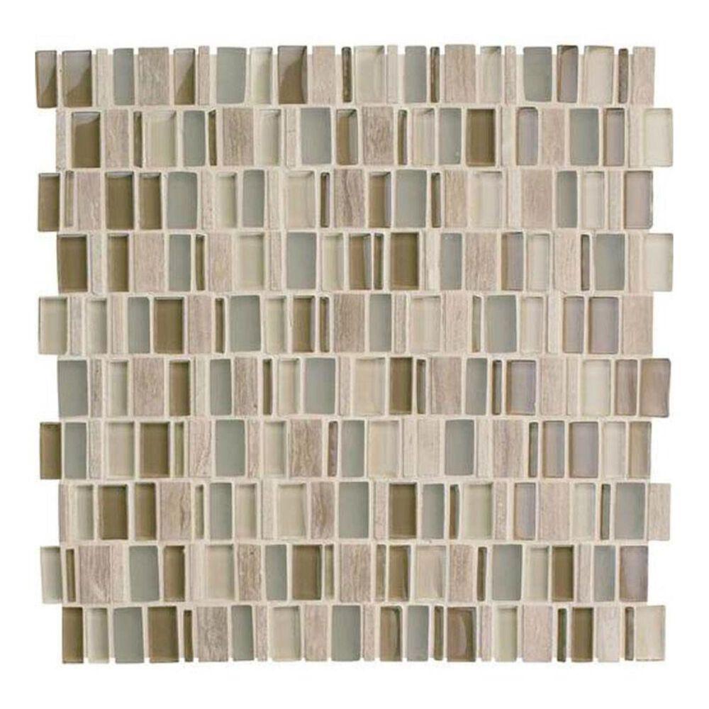 "Dal-Tile Clio Mosaics Hera 12"" x 12"" Glass and Stone Mosaic Sheet, , large"