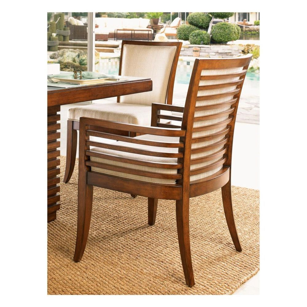 Tommy Bahama Home Ocean Club Kowloon Arm Chairs - Set Of 2, , large