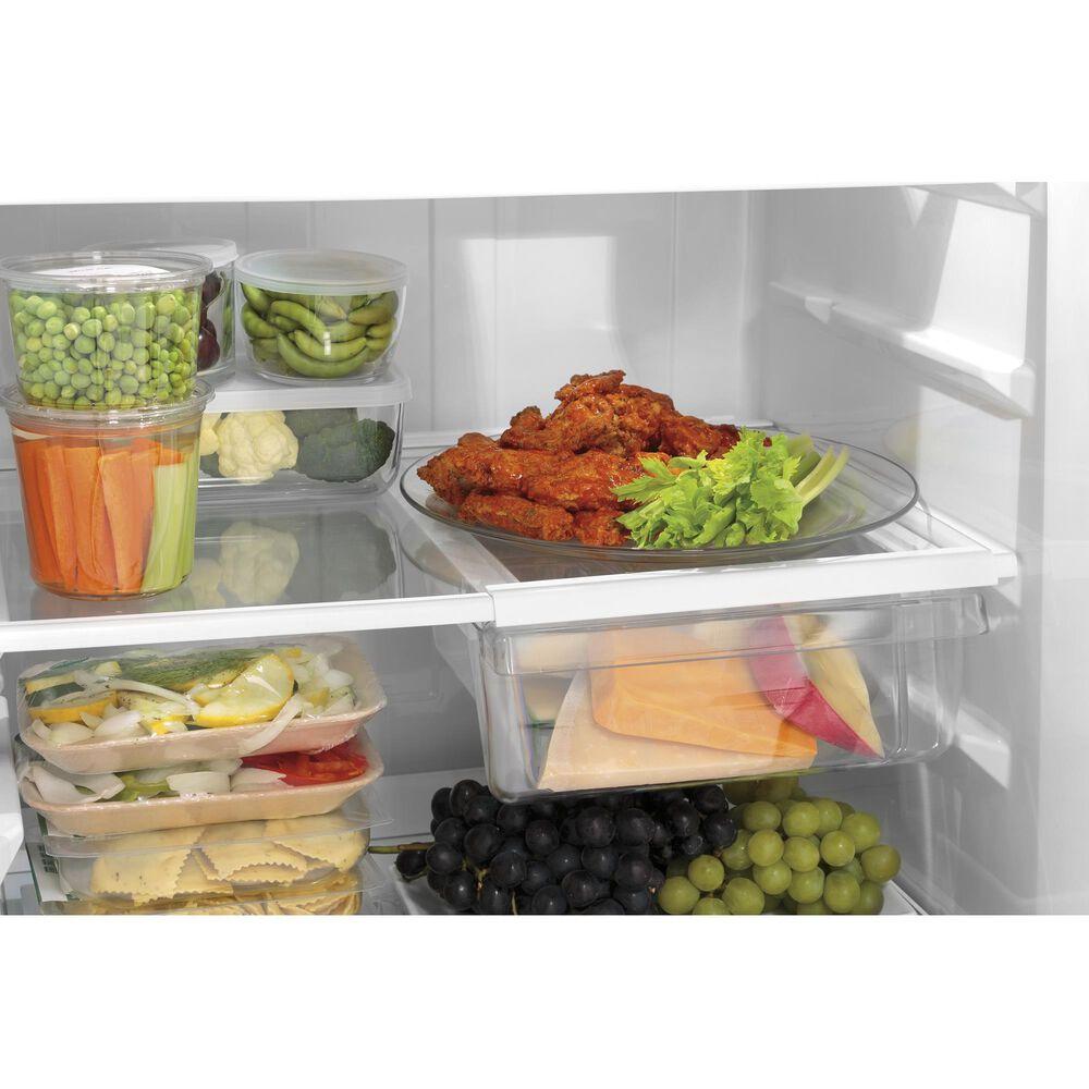 GE Appliances 19.2 Cu. Ft. Top-Freezer Refrigerator in Slate, , large