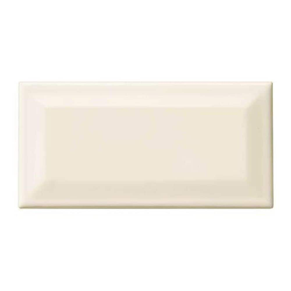 "Dal-Tile Rittenhouse Square Biscuit 3"" x 6"" Bevel Ceramic Tile, , large"