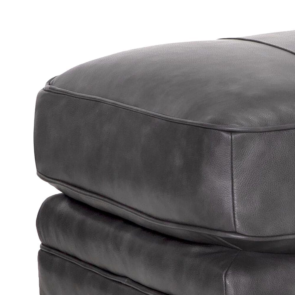 Moore Furniture Della Ottoman in Florence Steel, , large