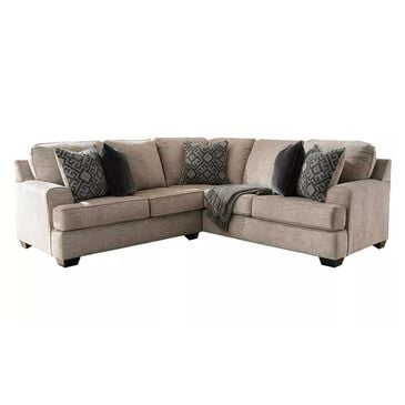 Signature Design by Ashley Bovarian 2-Piece L-Shaped Sectional in Stone, , large