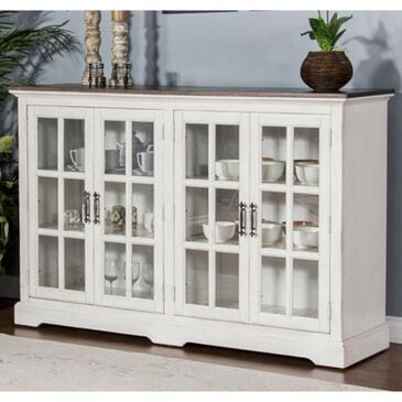 Prescott Valley Carriage House Server in Antique White, , large
