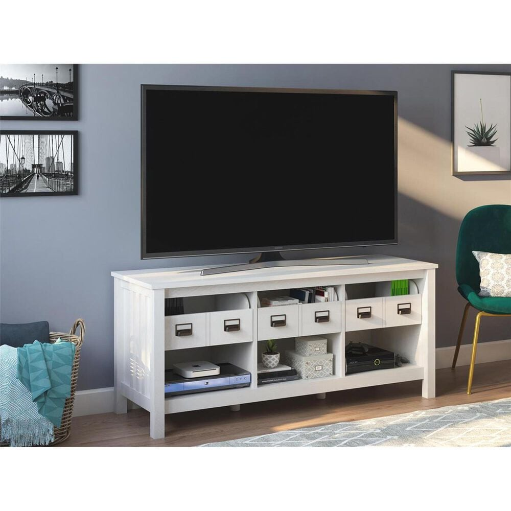 "DHP Roseland 59"" TV Stand in Ivory Oak, , large"