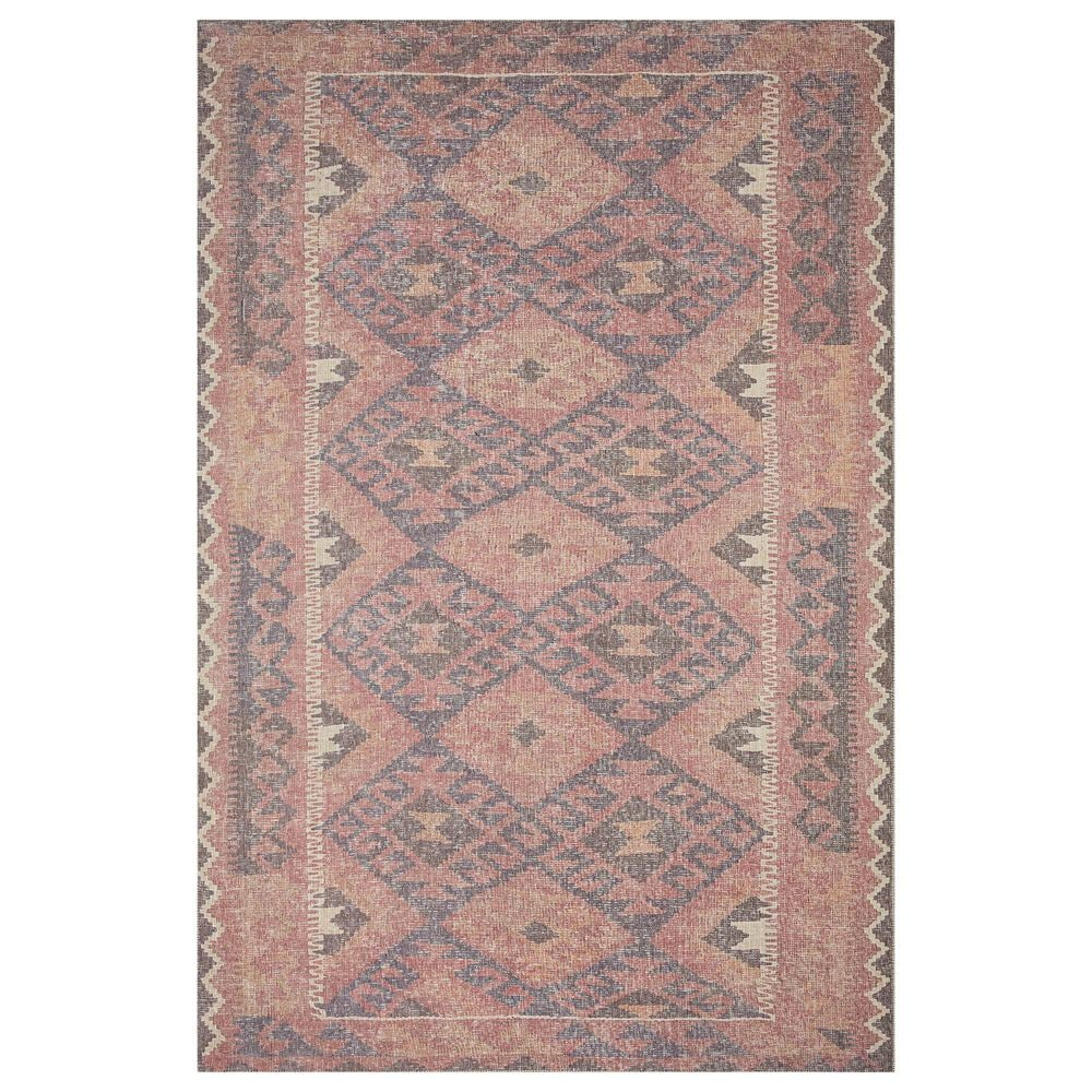 """ED Ellen DeGeneres Crafted by Loloi Alameda ALA-04 5' x 7'6"""" Red and Navy Area Rug, , large"""