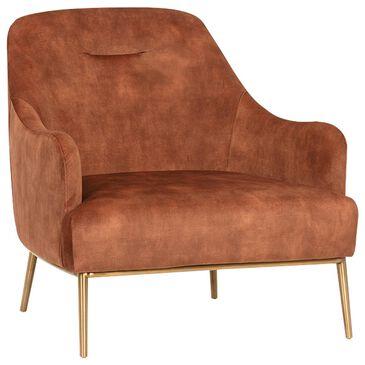 Sunpan Trading & Importing Cameron Arm Chair in Orange, , large