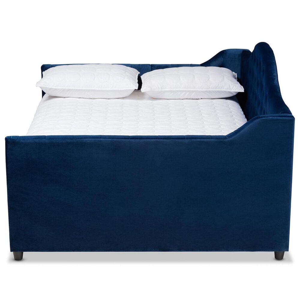 Baxton Studio Perry Full Daybed in Blue, , large
