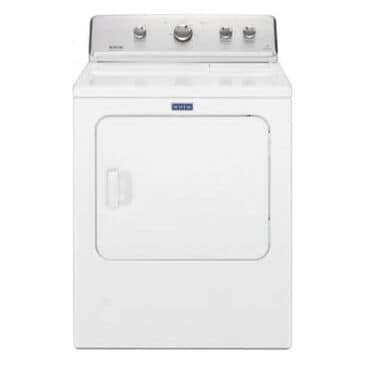 Maytag 7.0 Cu. Ft. Gas Dryer With IntelliDry Sensor in White, , large