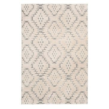 Central Oriental House Theon 7408.196.51 5' x 7' Lt Grey/White Area Rug , , large