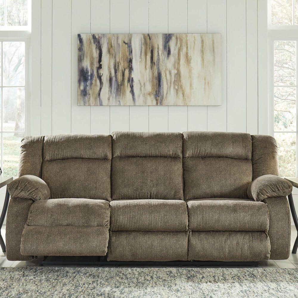 Signature Design by Ashley Burkner Power Sofa in Mocha Velvet, , large