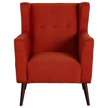 Urban Chic Carey Accent Chair in Chile Red, , large