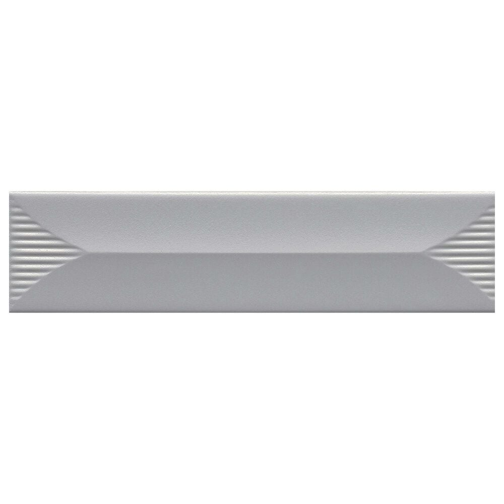 "Emser Euphoria Silver Arrow 3"" x 12"" Ceramic Tile, , large"