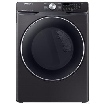 Samsung 7.5 Cu. Ft. Electric Dryer with Steam and Sensor Dry in Black, , large