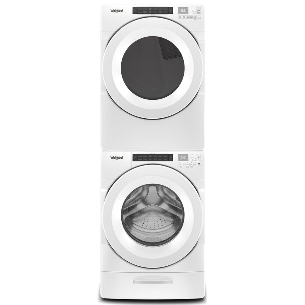 Whirlpool 7.4 Cu. Ft. Front Load Gas Dryer in White, , large