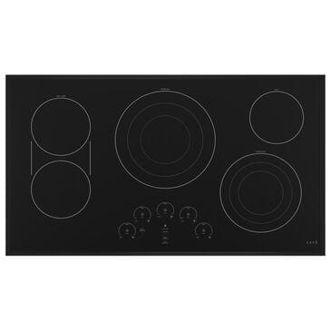 "Cafe 36"" Built-In Touch Control Electric Cooktop in Black, , large"