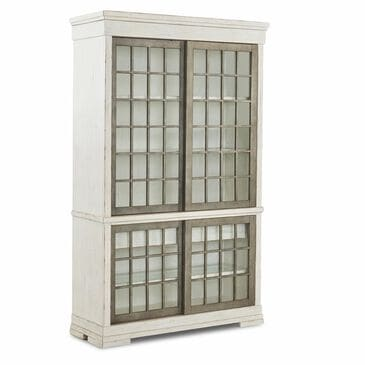 Trisha Yearwood Home Collection Coming Home Affection Display Cabinet in Chalk, , large
