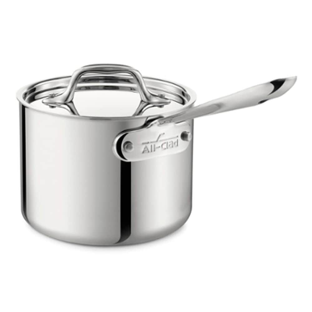 All-Clad 1.5qt Sauce Pan With Lid, , large
