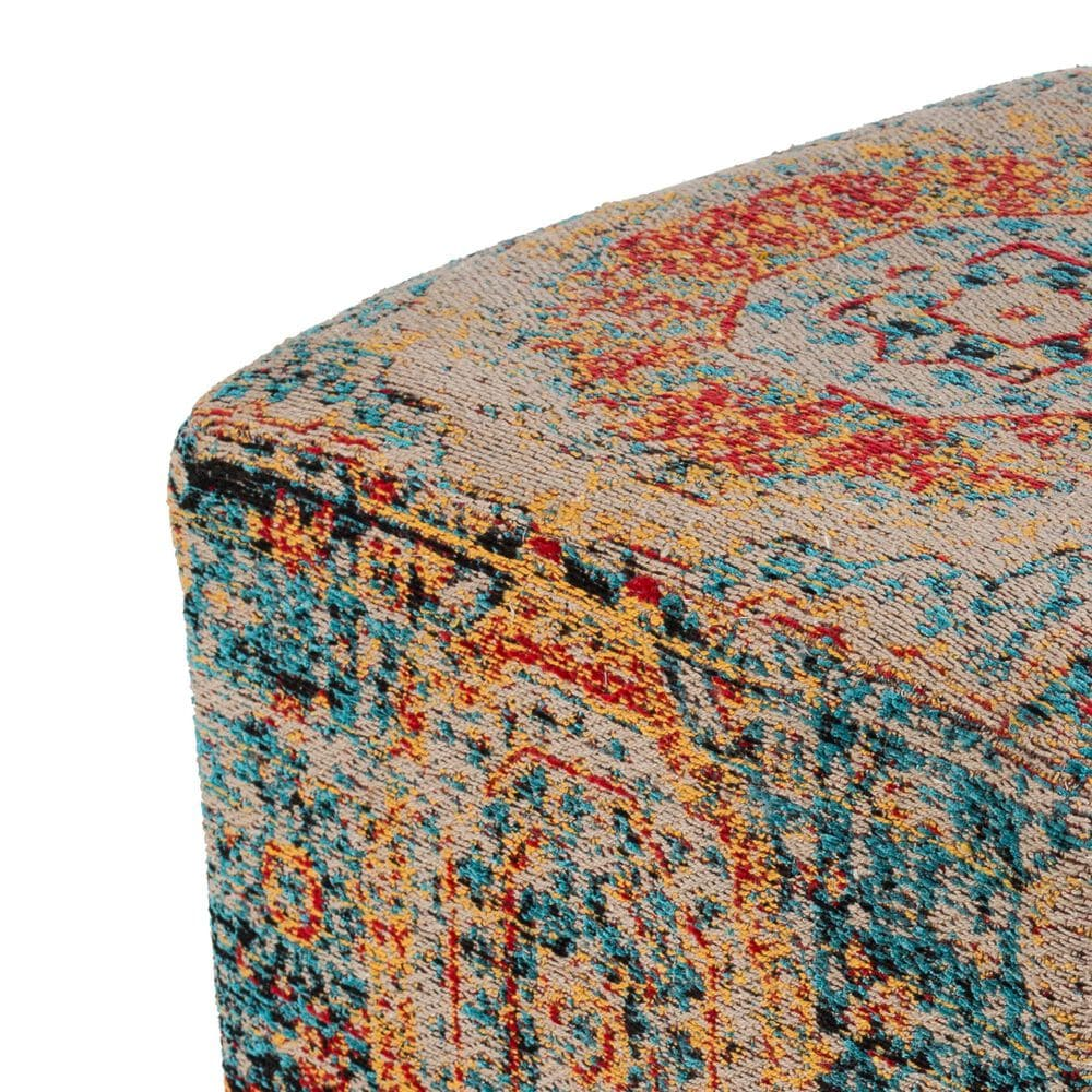Surya Inc Amsterdam Pouf in Multi, , large