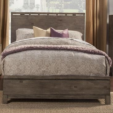 Alpine Furniture Sydney California King Bed in Weathered Grey, , large