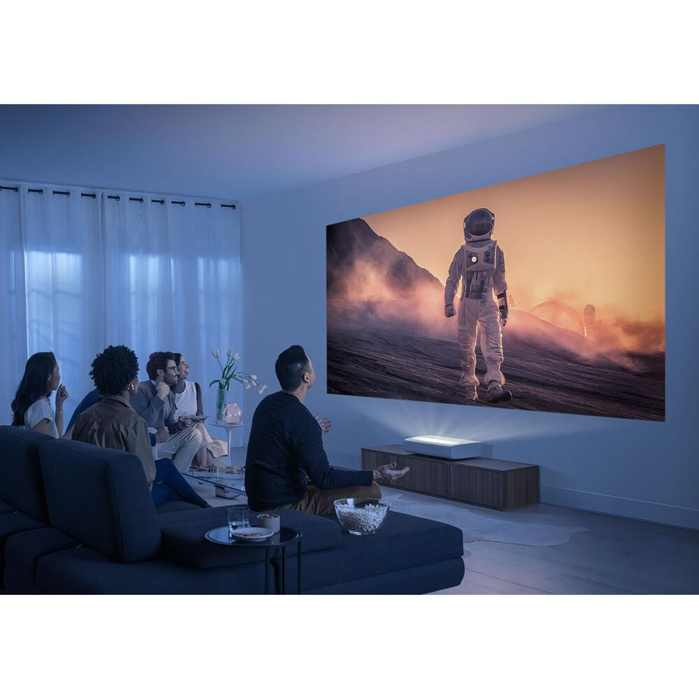 Samsung The Premiere 4K Smart Ultra Short Throw Single Laser Projector in White, , large