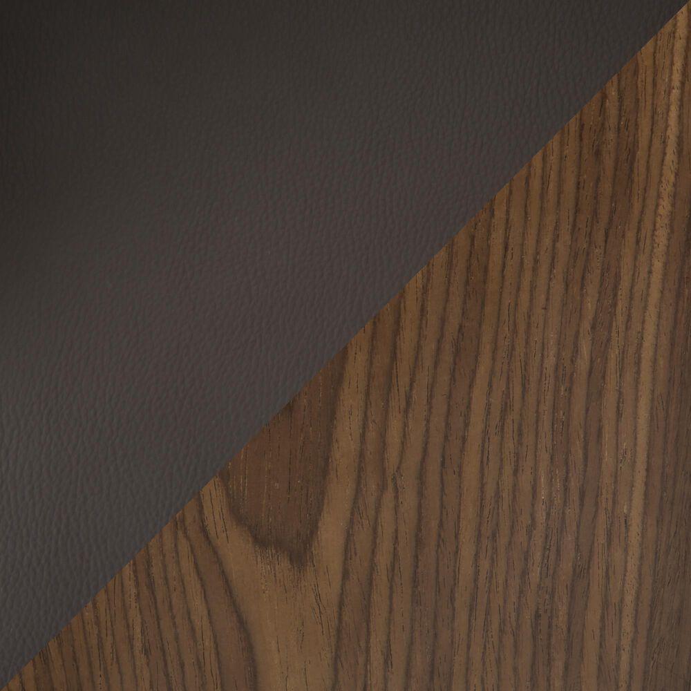 Lumisource Pino Adjustable Swivel Barstool in Brown/Walnut/Chrome, , large