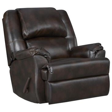 Arapahoe Home Chaise Rocker Recliner in Brahma Chocolate, , large