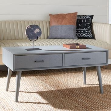 Safavieh Mozart Coffee Table in Distressed Grey, , large