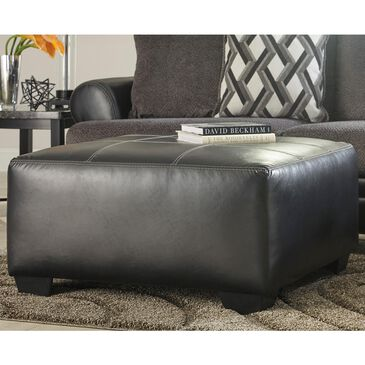 Signature Design by Ashley Kumasi Oversized Accent Ottoman in Smoke, , large
