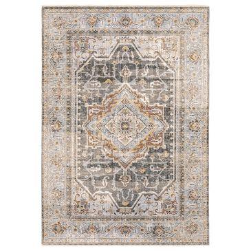 "Oriental Weavers Maharaja Sudan 1803X 9""10"" x 12""10"" Grey Area Rug, , large"